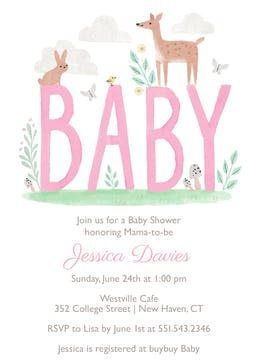 Forest Fun Invitation