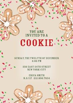 Cookie Swap! Invitation