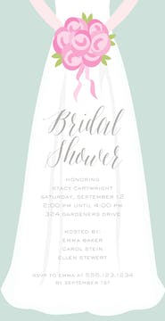 Here Comes the Bride Invitation