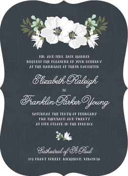Blooming Together Invitation