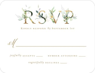 Ethereal Initial Reply Card