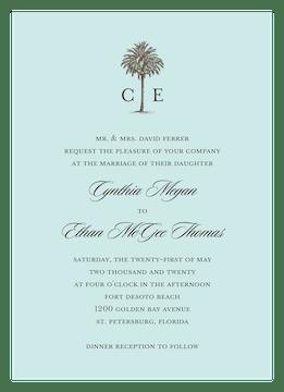 Romantic Getaway Invitation