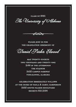 Formal Announcement Invitation