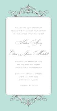 Elegant Affair Invitation