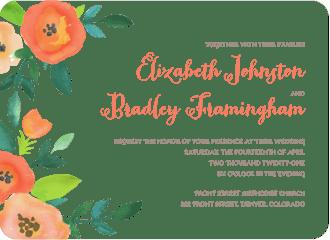 Perennial Promise Wedding Invitation