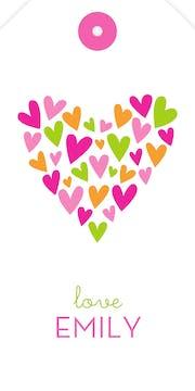 LotsaLove - Pink Hanging Gift Tag
