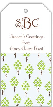 Sweet Spruces Gift Tag