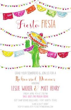 Cactus Fiesta Invitation