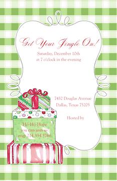 Christmas Morning Invitation
