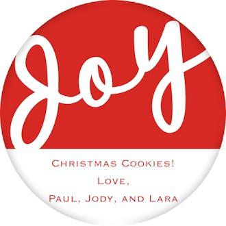 Joy Gift Sticker