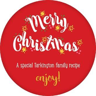 Merry Christmas Gift Sticker