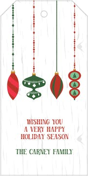 Hanging Ornaments Hanging Gift Tag