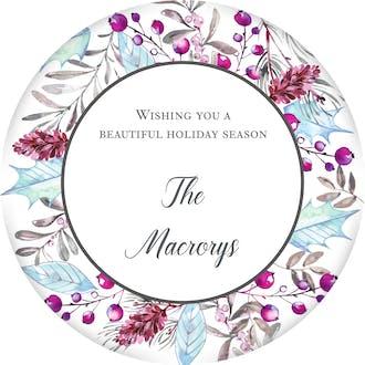 Enchanted Flora Gift Sticker