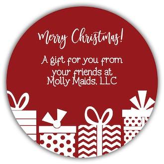Season's Gifts Gift Sticker