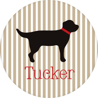 Tucker Dog Water-resistant Label