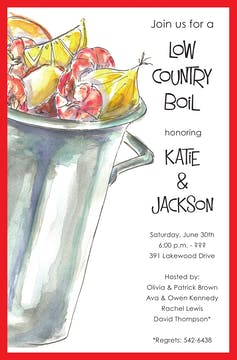 Outdoor Boil Invitation
