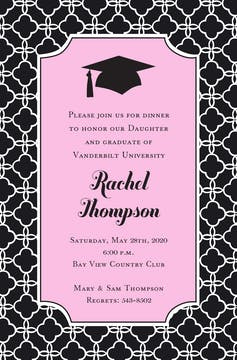 Sweet Grad Invitation