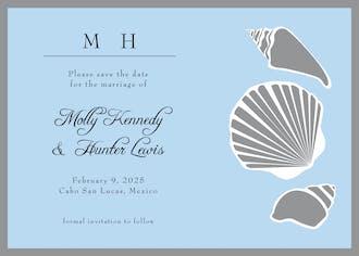 Shells Invitation