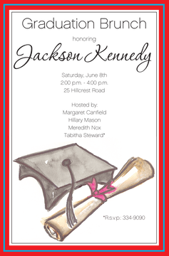 Grad Day Invitation
