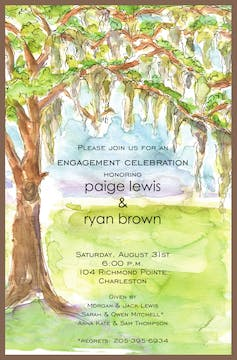 Spanish Moss Invitation