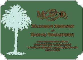 Vintage Palm Tree Invitation