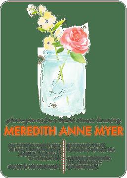 Watercolor Mason Jar Invitation