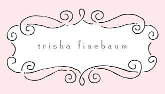 Curly Frame Pink Flat Enclosure Card