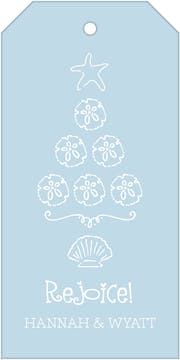 Beach Tree Hanging Gift Tag