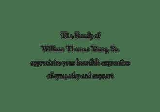 White Folded Sympathy Note