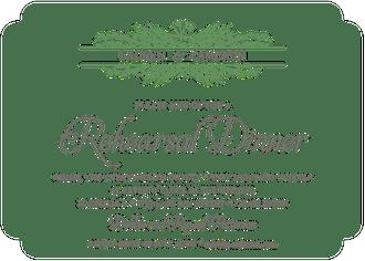 Greenery Spray Invitation