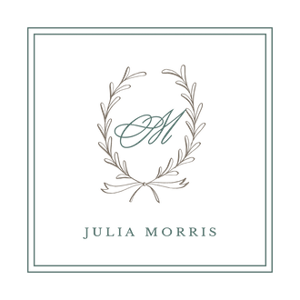 Laurel Wreath Shale Enclosure Card