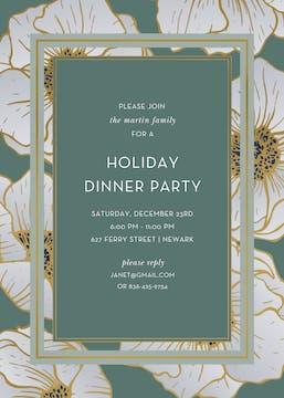 Grandeur Foil Pressed Invitation