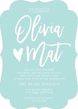 All Heart Invitation
