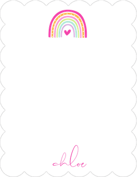 Rainbow Flat Note