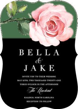 Modern Botanical Invitation