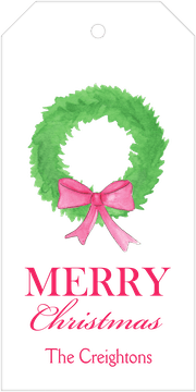 Fir Wreath Gift Tag