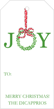 Joyful Hanging Gift Tag