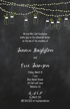 Mason Jars Invitation