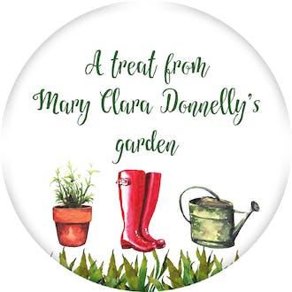 Gardening Circle Gift Sticker