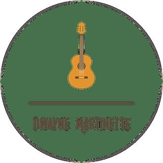 Guitar Water-Resistant Label