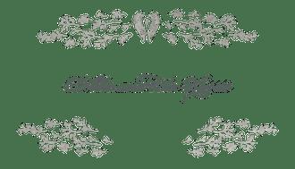 Delicate Florets Enclosure Card   EC