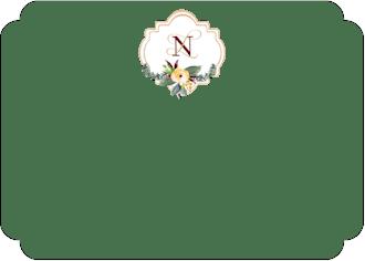 Crest Motif 21 Flat Note
