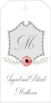 Crest Motif 22 Hanging Gift Tag
