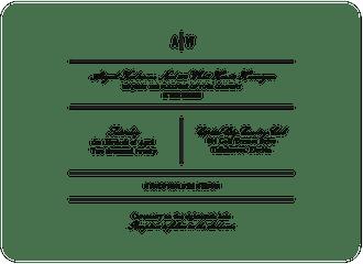 Modern Initials Invitation
