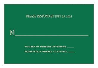 Green Svelte Reply Card