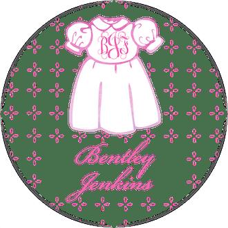 Sweet Dress Water-Resistant Label