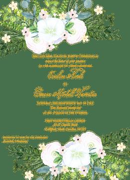 Carolina Invitation