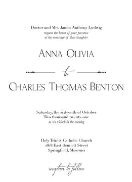 Cutlass Invitation