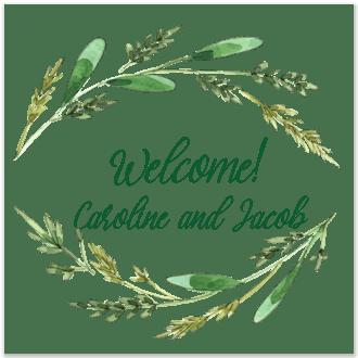 Harvest Grain Return Address Label