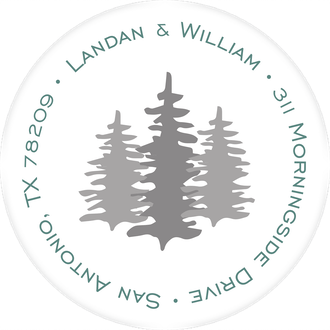 Mountain Shadows Return Address Label